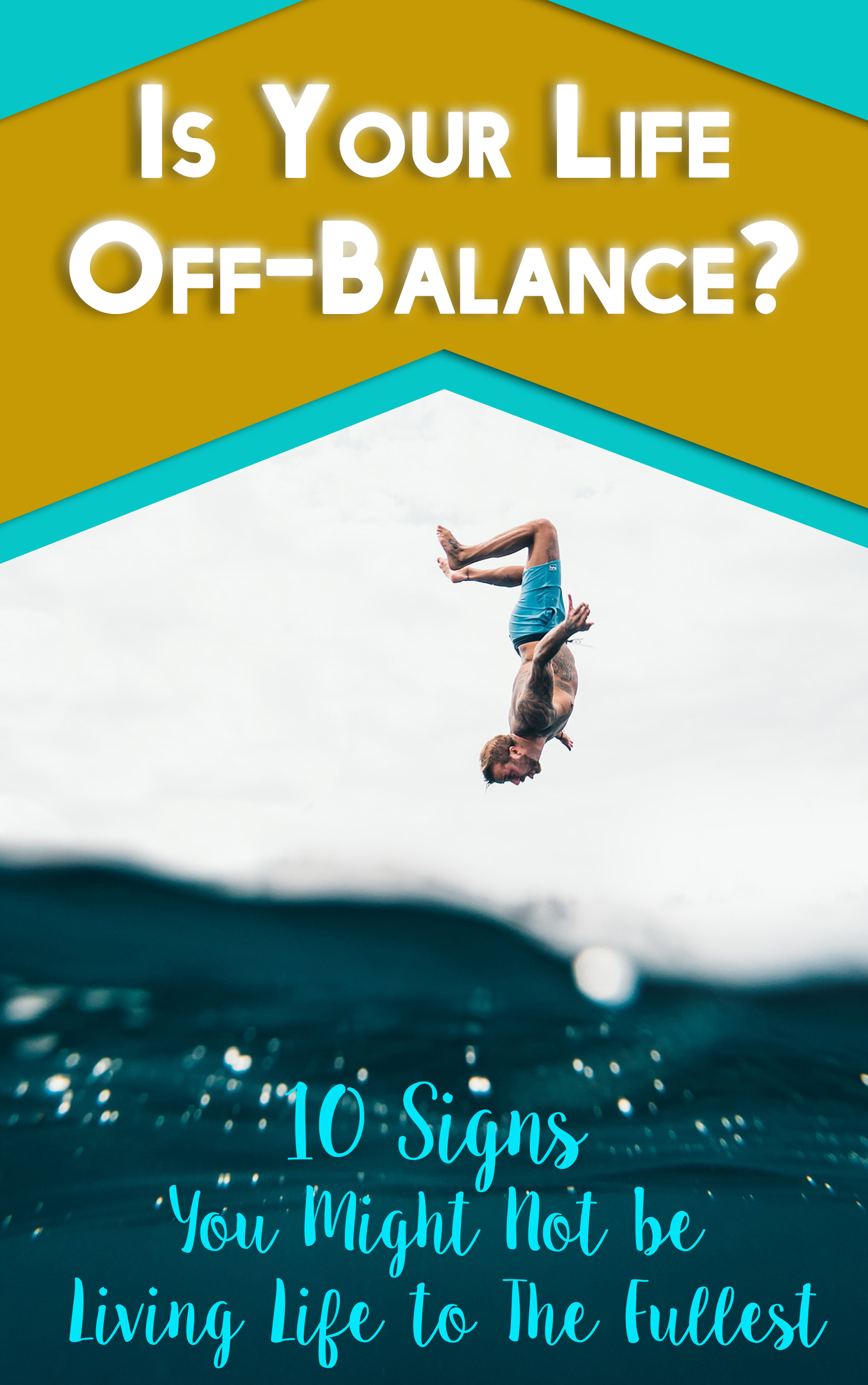 Get Your FREE Is Your Life Off-Balance report Now!